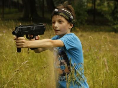 """Eraser — лёгкий """"детский"""" пистолет-пулемёт"""