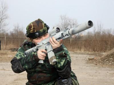 Штурмовая винтовка HK-416